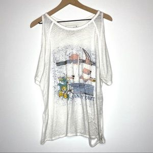 We the Free People Sandy State Graphic Tee